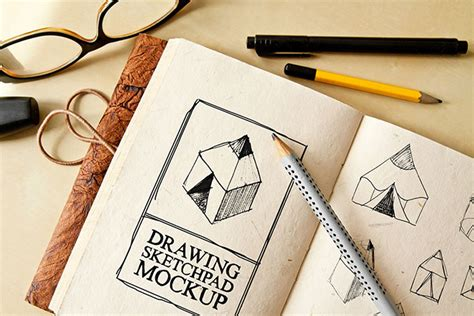 sketch free 25 free psd templates to mockup your sketches drawings