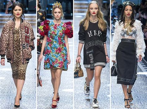 Dg Dolce And Gabbana Flash Collection Knit And Leather Shopper by Dolce Gabbana Fall Winter 2017 2018 Rtw Collection