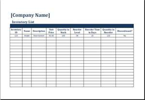 Stock Count Template ms excel printable inventory count sheet template excel