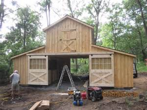 pole barn shop ideas