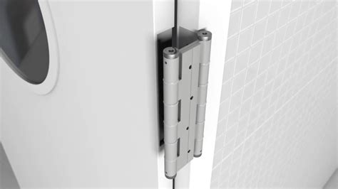 how to install swinging door hinges justor double action spring hinge installation youtube