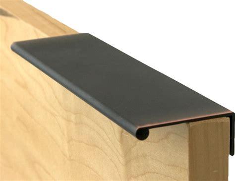 kitchen drawer finger pulls berenson ber 1063 40vb p bronze finger pulls traditional
