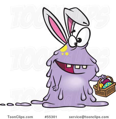 Ro N St Piyama Rabbit easter bunny rabbit holding a basket 55301 by leishman