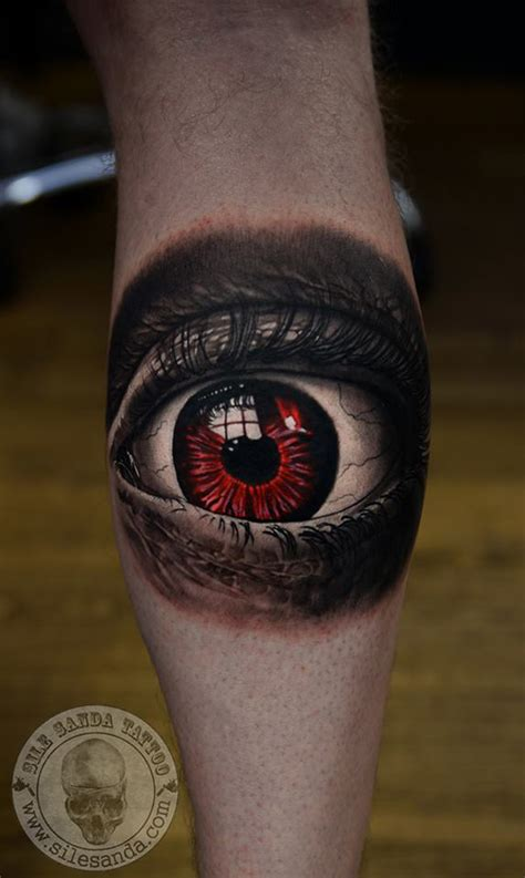 tattoo eye red scary looking red eye best tattoo design ideas