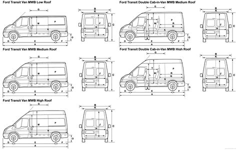 Ford Transit Interior Dimensions by Ford Transit Connect Dimensions Specifications 2010 Ford