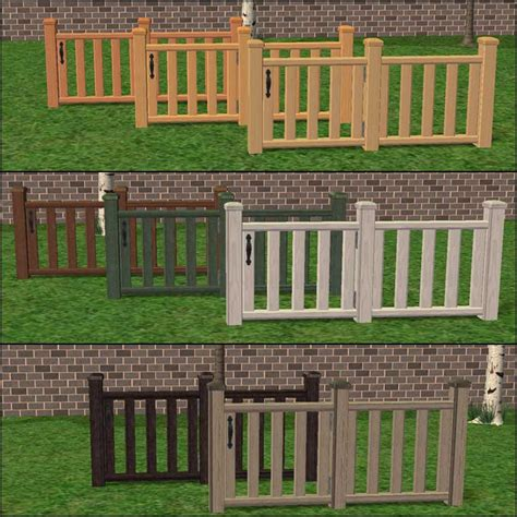 a shade of vire 6 a gate of volume 6 mod the sims modular stairs fence gate column add ons