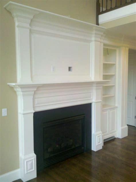 beadboard fireplace surround fireplace mantle custom home finish