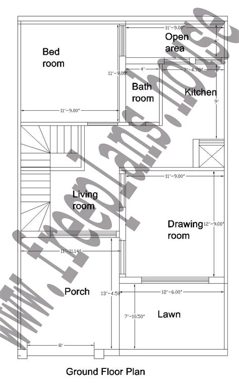 25 square meter house plan house plans 25 215 40 feet 92 square meter house plan