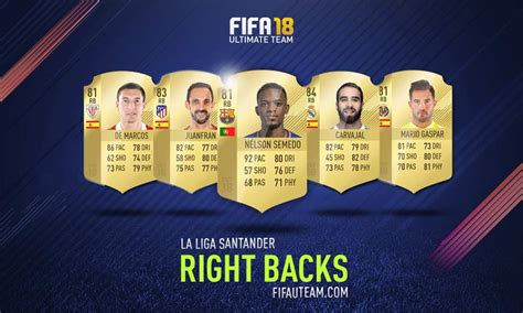 top right or right top fifa 18 laliga santander squad guide for fifa 18 ultimate team