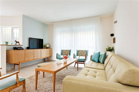 blue and cream living room 17 best images about mid century design on pinterest