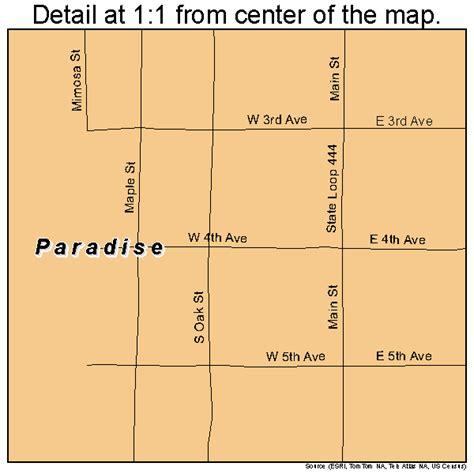 paradise texas map paradise texas map 4855056