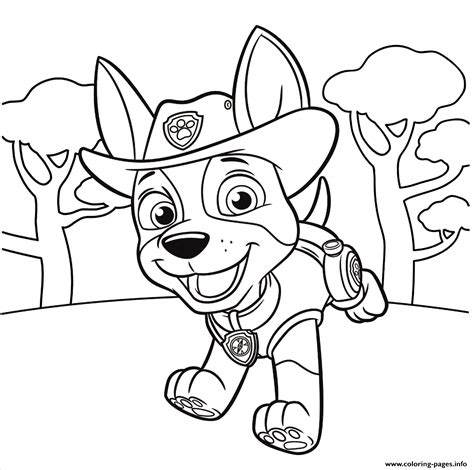 paw patrol blank coloring pages to print new printable coloring pages for ki paw patrol robo dog