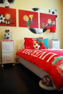 15 awesome kids soccer bedrooms home design and interior soccer bedroom decor ideas for teenage boys inertiahome com