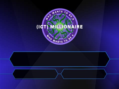 Who Wants To Be A Millionaire Powerpoint Templates by Resource Building Hardisty