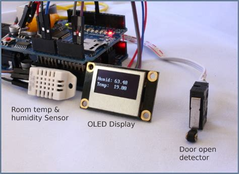 netsensor arduino connected home alarm system