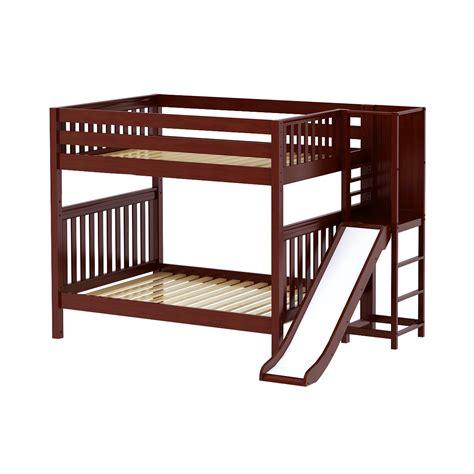 Maxtrixkids Abra Cs Low Bunk Bed With Slide Platform Bunk Bed Platform