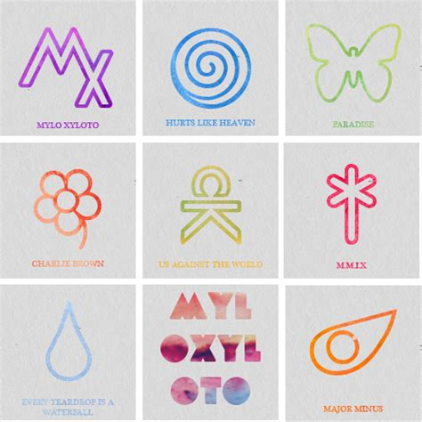 coldplay tattoos mylo xyloto s songs coldplay songs