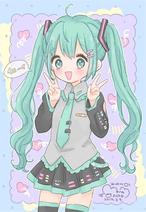 imagenes kawaii anime vocaloid cdfktjwwaaeb97e jpg 549 215 800 pixels kawaii pinterest