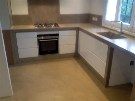 foto cocinas foto cocina cemento pulido de betonisart 391410