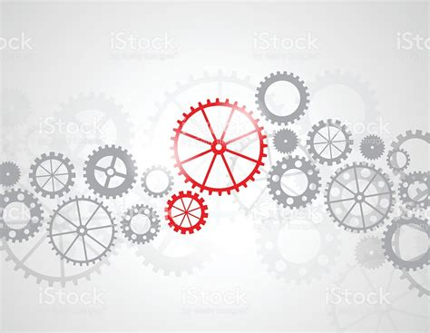 abstract gears background stock vector 481221072 istock