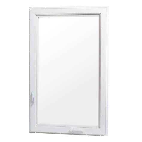 tafco awning windows tafco windows 30 in x 60 in right hand vinyl casement