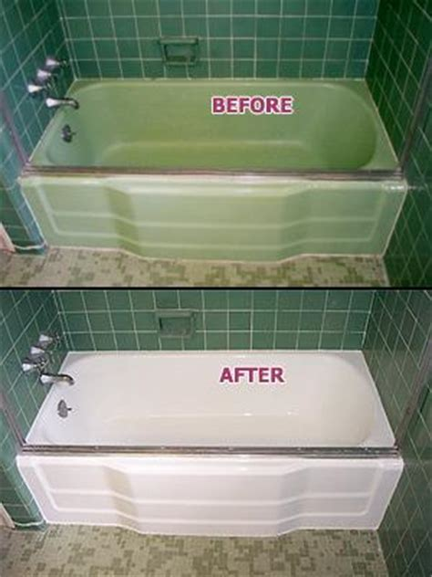 renew bathtub refinishing green porcelain tub before after from renew kitchen bath refinishing in chico