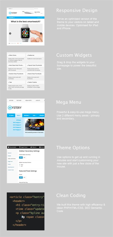 theme junkie mystery mystery newspaper style wordpress theme themes templates