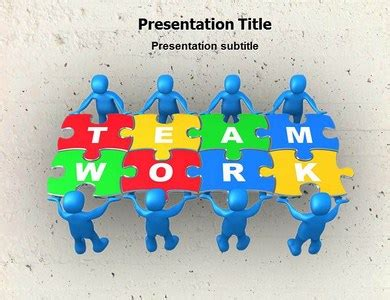 teamwork powerpoint ppt templates powerpoint template