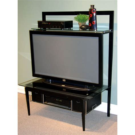 Top Of Tv Shelf by 4d Concepts Lcd Plasma Tv Stand W Top Shelf Free