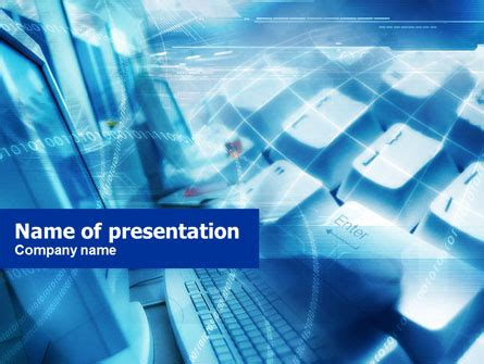 Computer Class Powerpoint Template Backgrounds 00701 Electronics Engineering Ppt Templates Free