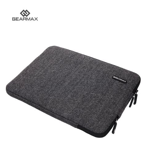 Gearmax Sleeve Bag For Macbook 11 13inch Grey מוצר original gearmax bag for macbook pro 15 laptop