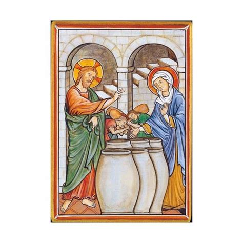Wedding At Cana Assembly by Christian Mysteries Wedding Feast Of Cana R 233 F Ic 4025