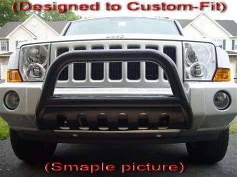 2006 Jeep Commander Bumper Premium Custom Fit 2006 2011 Jeep Commander Black Grille