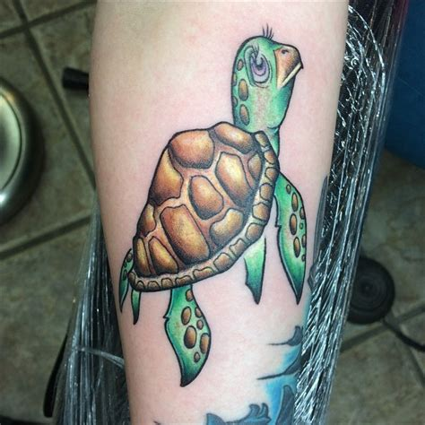 65 Sea Turtle Tattoo Green Sea Turtle Tattoos