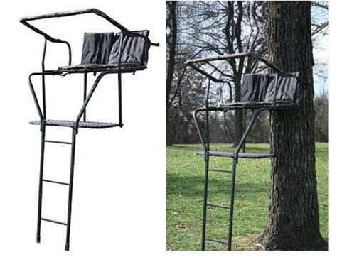 tree stands at walgreens home depot 16 foot 2 person deer ladder tree stand only 99 reg 239 free