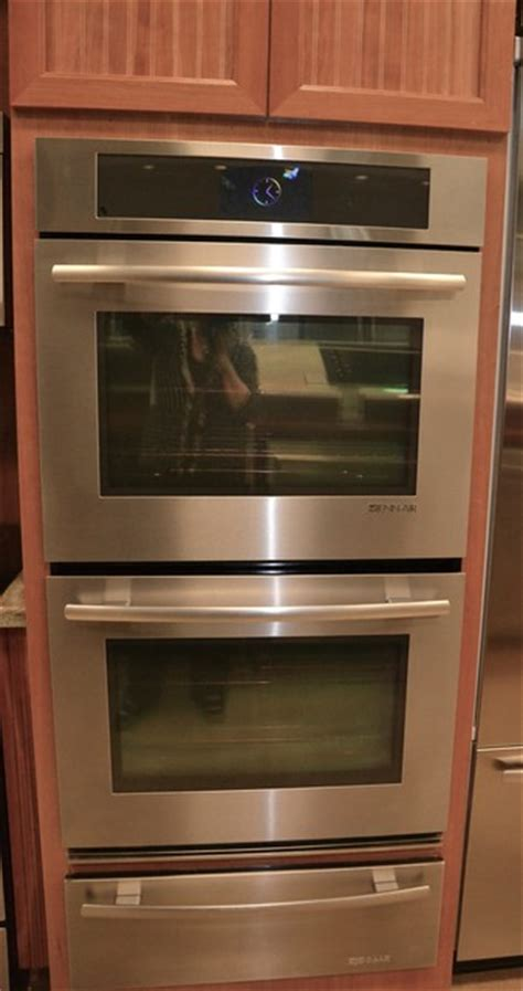 jenn air wall oven with warming drawer