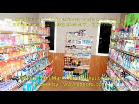 Rak Warung Kelontong rak minimarket toko dan mesin kasir mutiara mini mart by