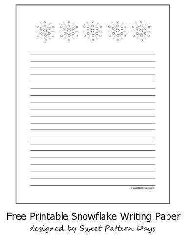 printable snowflakes stationery paper 128 best images about stationery printables on pinterest