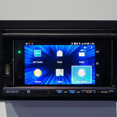 android car stereo ces 2014 on with the sony xsp n1bt android phone mount car stereo