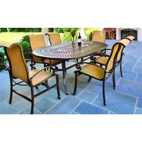 La Z Boy Dining Furniture Kerrington 7 Piece Outdoor Patio Patio Furniture 7 Dining Set