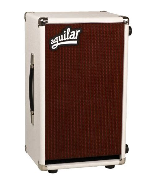 aguilar bass cabinet reviews aguilar db 285 jc bass cabinet 4 ohm white bass