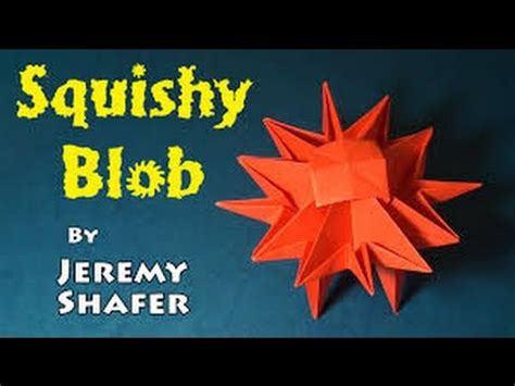 How To Make Origami By Shafer - how to make an origami squishy blob by shafer