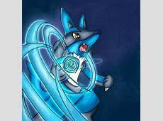 Lucario Aura Sphere Wallpaper