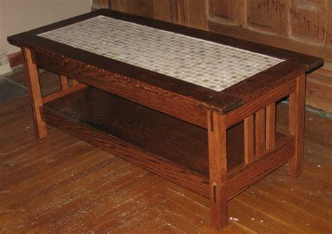 Arts And Crafts Coffee Table By Legendinmyownmind Arts And Crafts Coffee Table