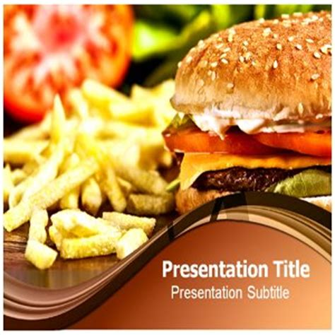 Food Powerpoint Templates Ppt Presentation Catalog Price List Page1 Fast Food Ppt Slides