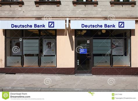 deutsche bank bankink deutsche bank atms editorial photo cartoondealer