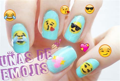 Imagenes De Uñas Emoji | tutorial 191 c 211 mo hacer u 209 as de emoji youtube