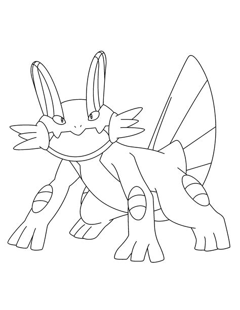 pokemon coloring pages sceptile pokemon swert coloring pages download and print for free