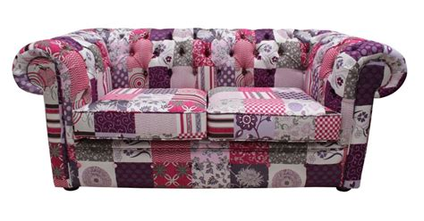 2 Seater Settee Sale by Chesterfield Patchwork 2 Seater Settee Fabric Sofa