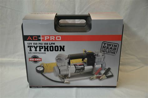 projecta 12 volt typhoon 150 psi high volume air compressor free metro delivery ebay